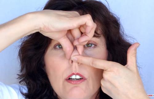 Bài tập giúp nâng mũi cao tự nhiên tại nhà