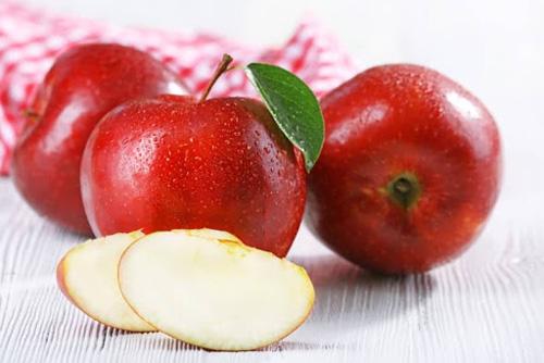 Nâng mũi nên ăn trái cây gì? - Táo