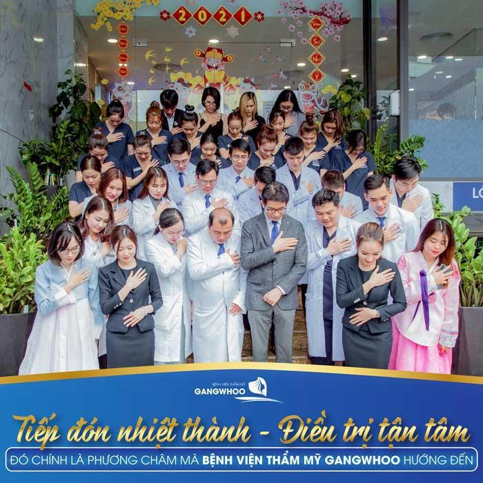 Bệnh viện thẩm mỹ Gangwhoo phủi bỏ trách nhiệm với khách hàng là sai sự thật