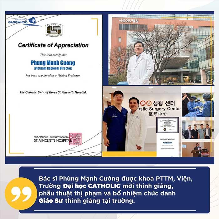 BS. Phùng Mạnh Cường tu nghiệp tại Hàn Quốc