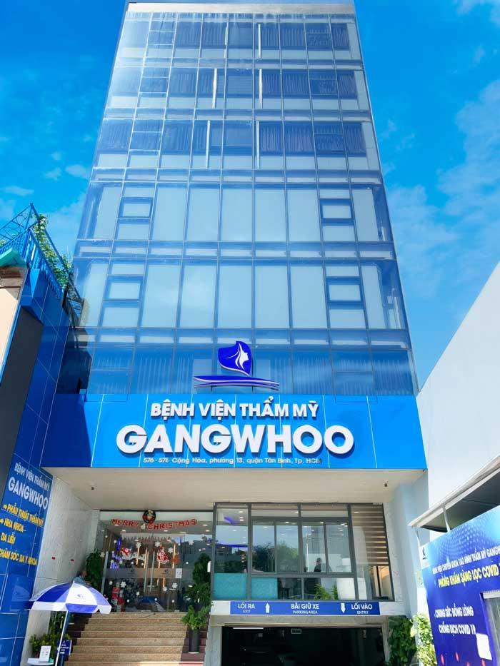 bệnh viện thẩm mỹ Gangwhoo là địa chỉ nâng mũi không đau uy tín